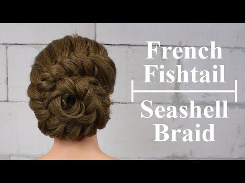 How To: French Fishtail Seashell Braid Tutorial