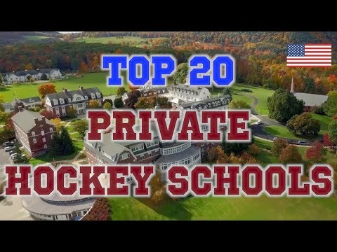 Top 20 Private Hockey Schools in the United States
