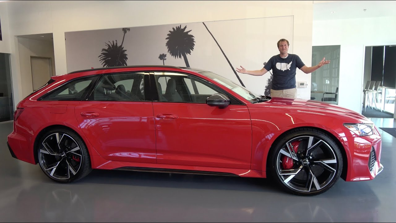 The 2021 Audi RS6 Avant Is the Ultimate $130,000 Fast ...