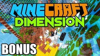 1000 TNT VS UNSERE DIMENSION BASIS   Minecraft DIMENSION BONUS