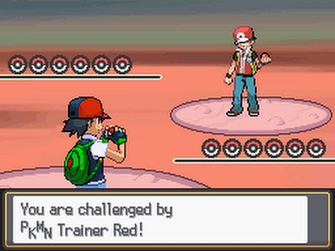 Pokemon: Red VS Ash (Johto-Team)