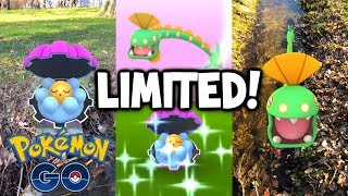 The LUCKIEST Unlucky *SHINY CLAMPERL* Day!