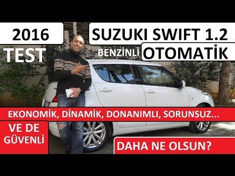 #SUZUKI #SWIFT 1.2 OTOMATİK (2016) AKLA GELMEYEN EN GÜVENLİ VE EKONOMİK KÜÇÜK ARABA
