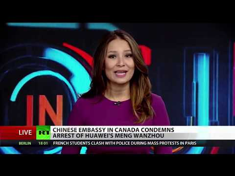 Canada Bends To US Sanctions On Iran Arrests Huawei CFO