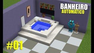 Minecraft: Dicas e Ideias para Construção #1 | COMO DEIXAR SEU BANHEIRO ÉPICO