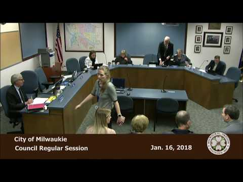 City Council Regular Session 1/16/2018