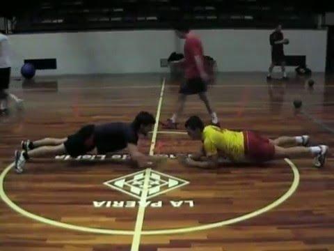 Handbol Pardinyes Power Training 3.mpg