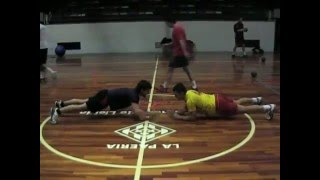 Handbol Pardinyes Power Training 3.mpg