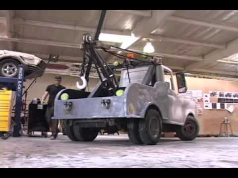making the real life tow mater from the movie cars part 3 youtube