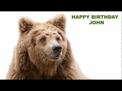 John - Animals - Happy Birthday