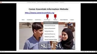 Career Essentials Assessements Ordering and Management Tools Webinar
