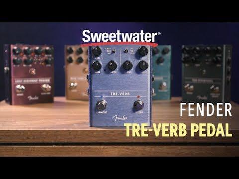 Fender Tre-Verb Tremolo/Reverb Pedal Demo