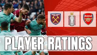 Arsenal Player Ratings - This Result Has Really Annoyed Me!