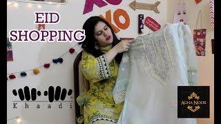 Eid Clothing haul 2018 l Pakistani Clothing haul