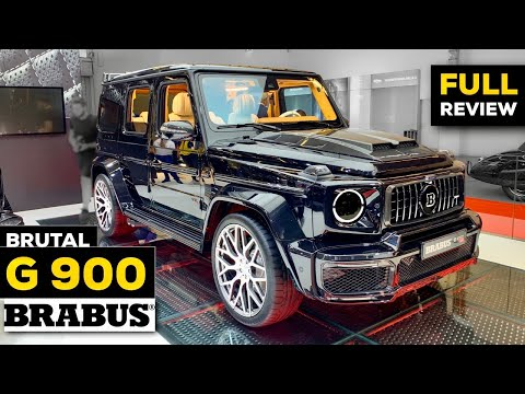 2020 MERCEDES G63 AMG NEW BRABUS G Class FULL Review BRUTAL POWER Exterior Interior