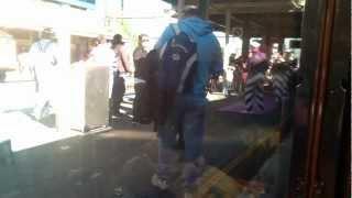Joyville band at Redfern Station