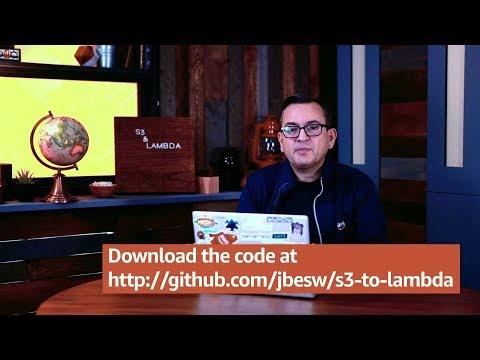 Serverless Workflows using S3 and Lambda