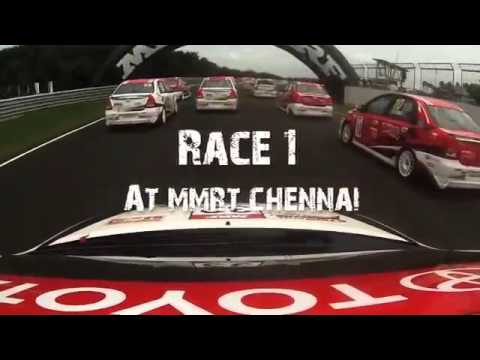Toyota Etios Motor Racing Trophy, Chennai 2013, Race Day 1 Toyota India