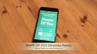 Shape Of You Ringtone Ed Sheeran Tribute Marimba Remix Ringtone For iPhone Android