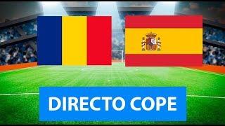 (SOLO AUDIO) Directo del Rumanía 1-2 España en Tiempo de Juego COPE
