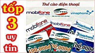 Tốp 3 App Kiếm Thẻ Cào Trên Điện Thoại UY TÍN | Kiếm Tiền Online