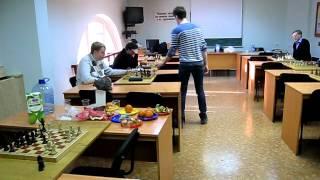 Гроссмейстер Матлаков в ПГУПС.