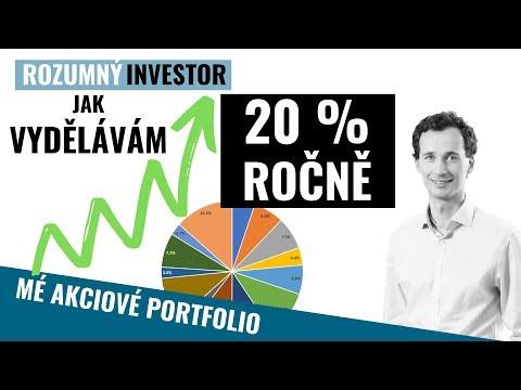 Mé akciové portfolio: Jak vydělávám 20% ročně | Cesta za finanční nezávislostí