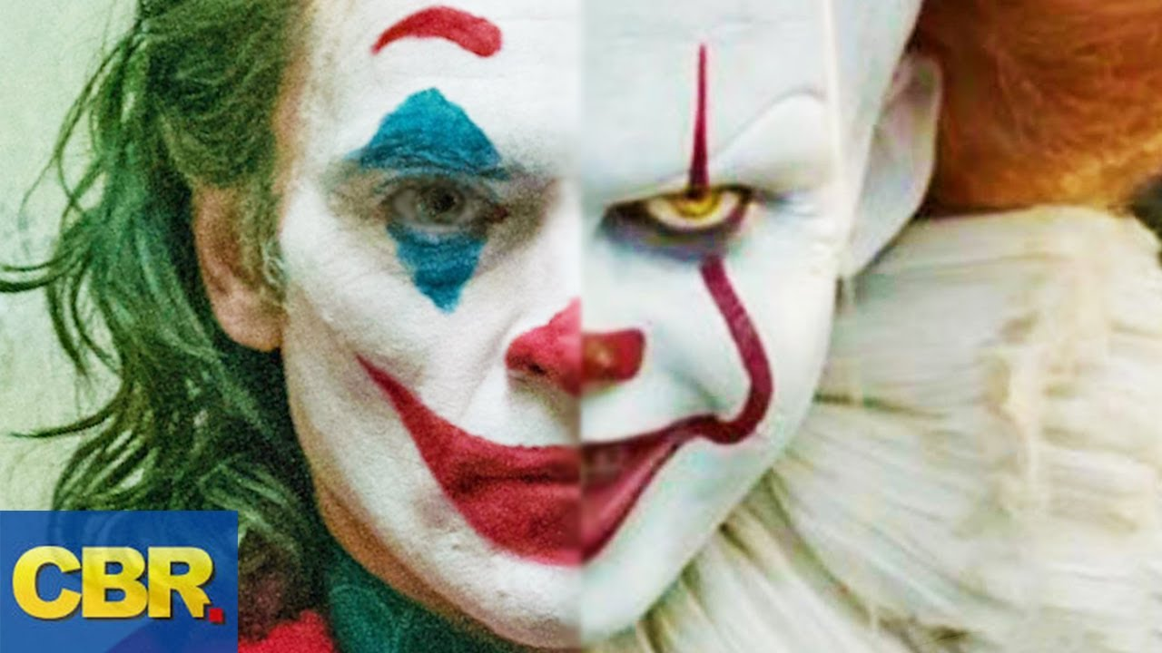 10 Surprising Similarities Between Pennywise And The Joker Youtube