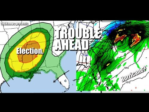 Nasty Election Day Storm & more Major Flood Troubles USA + Atlantic Volcano Heat
