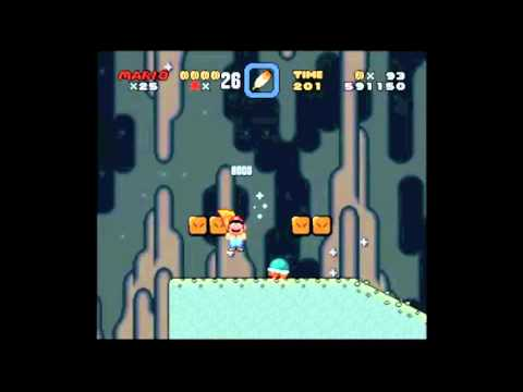 Super Mario World Snes Walkthrough Vanilla Dome 2 Secret Exit Red