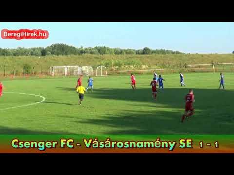 Csenger FC - Vásárosnamény SE Magyar Kupa mérkőzés