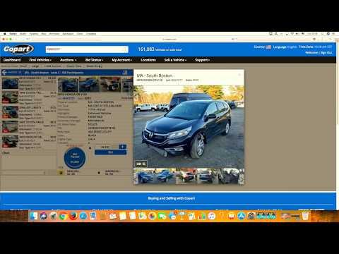 2016 Honda CRV 4750$- продажная цена на аукционе копарт (copart.com ).