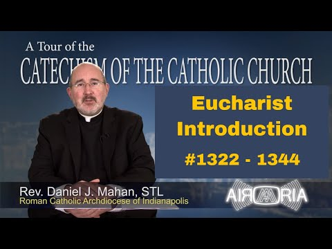 Tour of the Catechism #43 - Eucharist Introduction