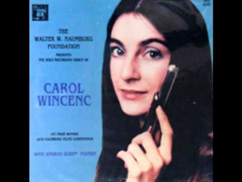 George Enescu Cantabile et Presto. Carol Wincenc, flute, András Schiff, piano