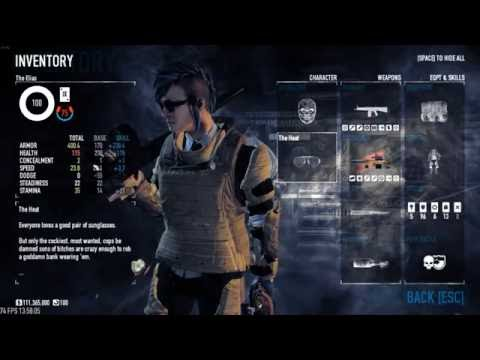 Payday 2 Best Tank Build For Deathwish (Update 100)