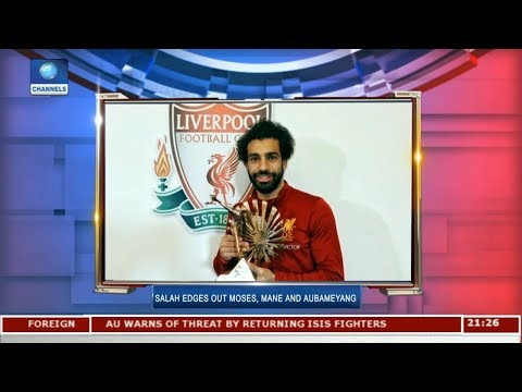 Mohammed Salah Wins BBC African Footballer Of The Year | Sports Tonight |