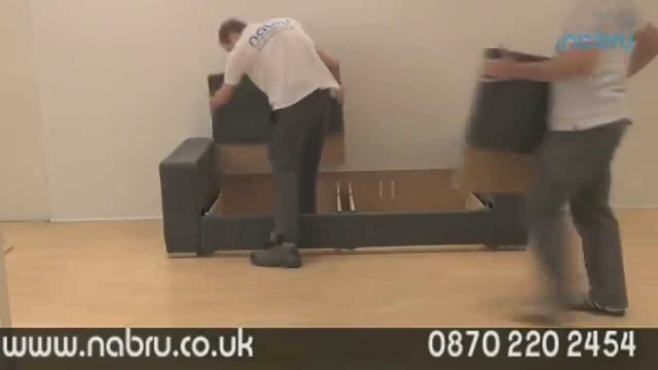 Nabrusofas Sofa Assembly In 1 Minute Youtube