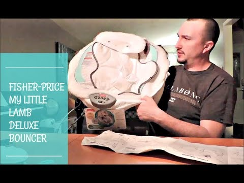 Fisher-Price My Little Lamb Deluxe Bouncer UNBOXING AND SET UP | The Zebra Tribe