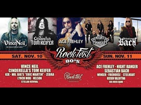 Rockfest 80's Sebastian Bach November 11, 2018