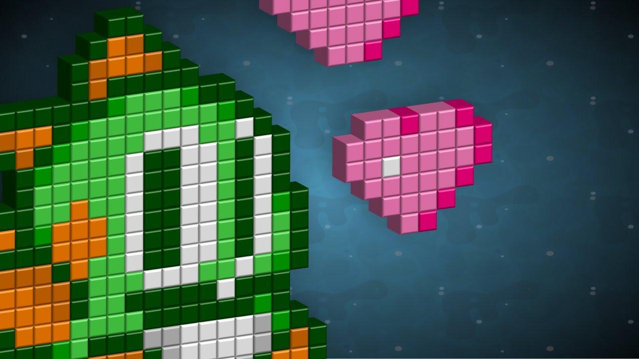 Create 3d Pixel Art Adobe Illustrator 8bit Youtube