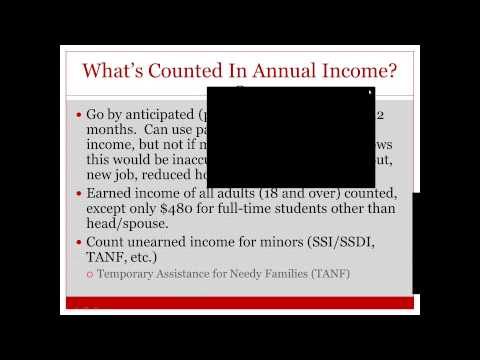 Subsidized Housing Rents and Domestic Violence Common Issues - Webinar 9/19/12