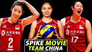 Brilliant Team China | Spike Movie | New Format | World Cup 2019 - GOLD | HD |