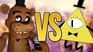 СУПЕР РЭП БИТВА: Билл Шифр VS Фредди Фазбер (BILL CIPHER Против FREDDY FAZBEAR)(I dont make money on this video! ГОЛОСУЙТЕ ЗА ПОБЕДИТЕЛЯ ТУТ:http://vk.com/dambo_official **** **** **** **** USED VIDEOS/Авторы видеоряда: ..., 2016-05-20T07:00:01.000Z)