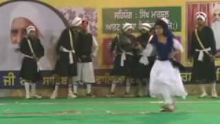 First International Gatka Competition at Gurduara Yadgar Sahib jarg 37.mp4