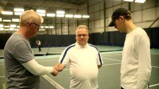 Tennis - Chris Evans Breakfast Show - Sporting Challenge - BBC Radio 2