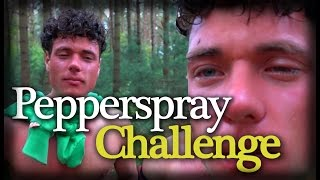 Pepperspray Challenge - Prankster Duitsland #3