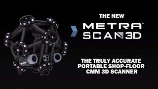 optical cmm 3d scanner metrascan 3d