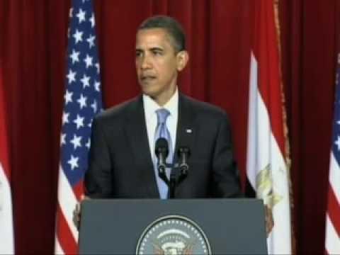 Obama In Egypt On US-Muslim Tensions-Full Speech