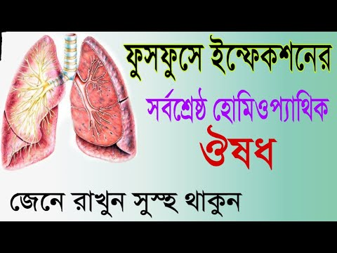 lungs homeopathy