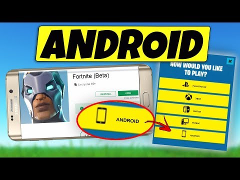 NEW Fortnite Mobile ANDROID Release UPDATE!